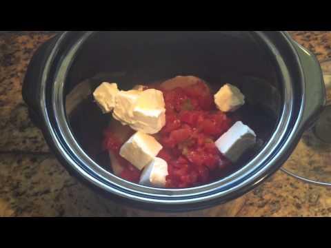 Crock Pot Cheesy Chicken Tacos