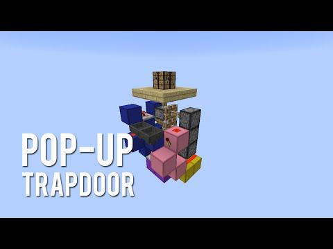 Redstone: Pop-Up Trapdoor [Tutorial]