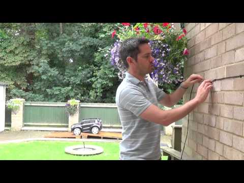 How to install an external and internal cable