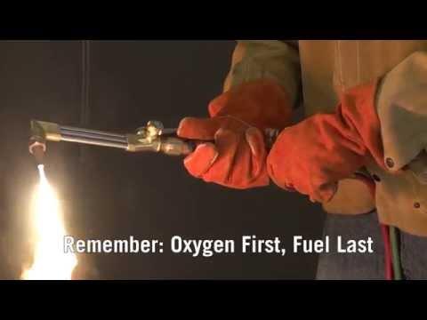 Firepower How-to: Proper OxyFuel Torch Shutdown