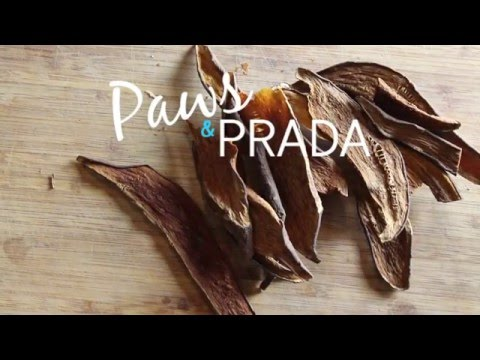 Sweet Potato Dog Treat Recipe - Paws and Prada