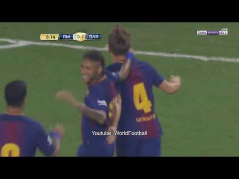 Barcelona vs Real Madrid 3-2 (ICC 2017)| All Goals | International Champions Cup 2017