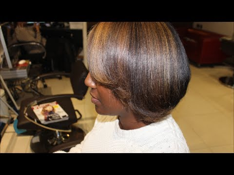 Salon Work| Half head of highlights