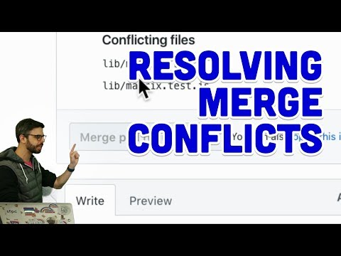 1.9: Resolving Merge Conflicts - Git and GitHub for Poets