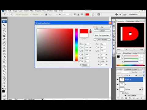 How to Make A Favicon In Photoshop CS3 (HD)