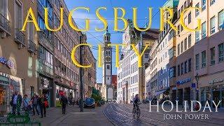 Augsburg Stadt Holiday GH4 Lumix in UHD Innenstadt St Ulrich-Dom