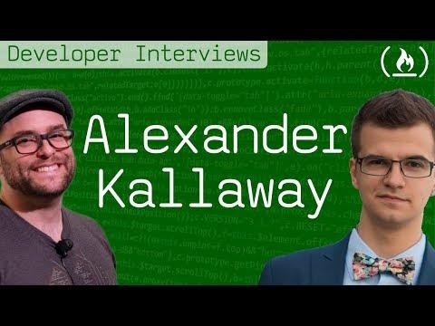 100DaysOfCode Creator Alexander Kallaway - Developer Interviews