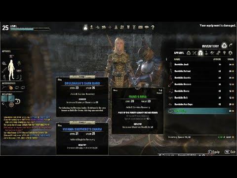 Elder Scrolls Online Medium Armor Clothing Crafting Guide