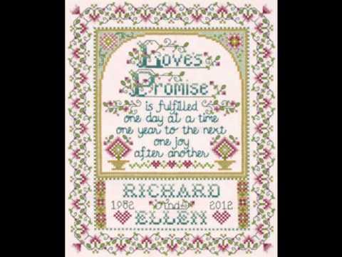 Wedding Sampler Cross Stitch Kits Collection 1