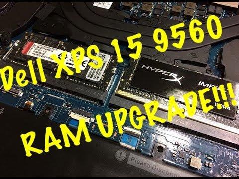 Dell XPS 15 9560 RAM UPGRADE!!!