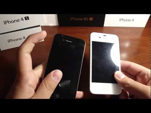 How to tell the difference between the iPhone 4 GSM and 4S! SIDE BY SIDE COMPARISON!