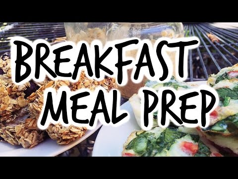 3 SIMPLE MEAL PREP IDEAS | Healthy Breakfast On the Go | YEAR OF YOU EP05