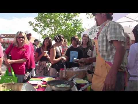 Tempura Shoshito Peppers- Cooking Demo No.5 at the Santa Fe Farmers Market