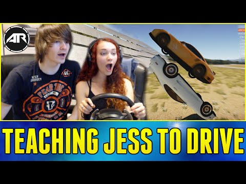 Forza Horizon 2 Online : TEACHING MY GIRLFRIEND TO DRIVE!!! #WhoIsJess