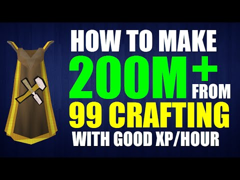 CRAFTING For 2M Profit/Hour [230M From Getting 99]
