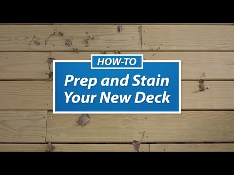 Staining Your New Deck - Sherwin-Williams
