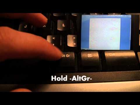 How to get a 'Euro' €-symbol - TUTORIAL