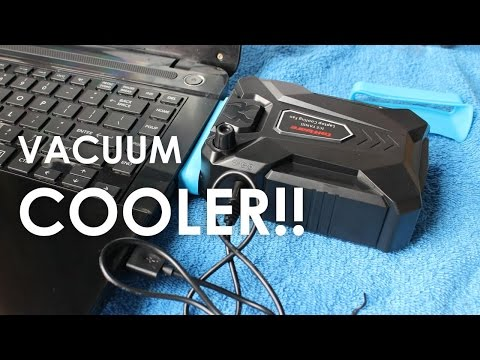 Unboxing Review/Tes Taffware Universal Laptop Vacuum Cooler