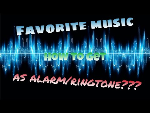 How to get your favorite music to be your alarm/ringtone