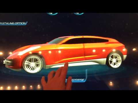 Making a car at test track at Disney's Epcot
