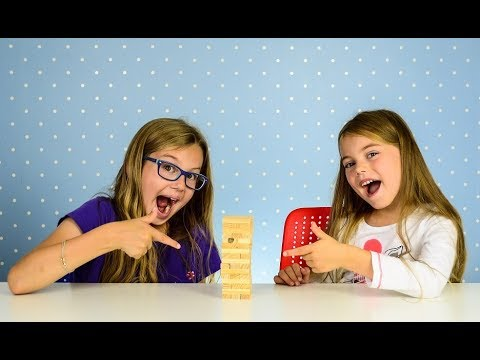 JENGA TOWER Blocks Game for Family and Kids Wooden Game How to play Jenga