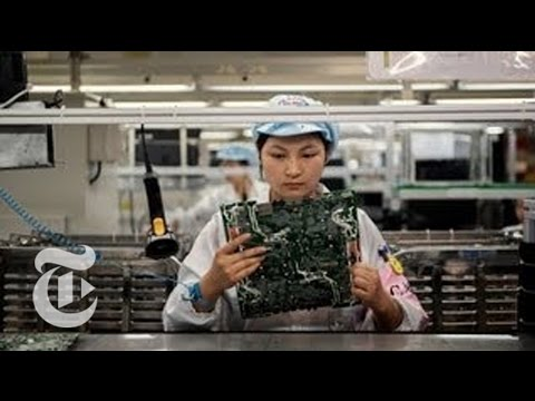 The iEconomy: Factory Upgrade - Apple News 2012 | The New York Times