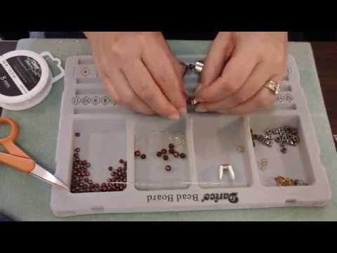 Tutorial - How to Make a Stretch Cord Bead Bracelet
