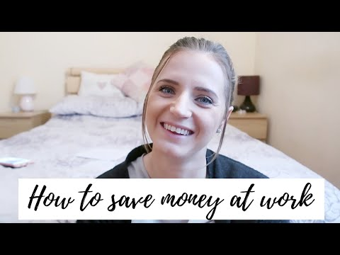 HOW TO SAVE MONEY AT WORK | CARLY ELLEN
