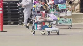 Going to the grocery store with News 8's Shannon Handy during a pandemic