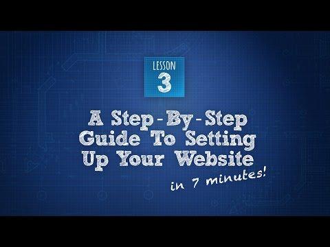 Build An Artist Website 3 of 6: The Seven MInute Website Setup