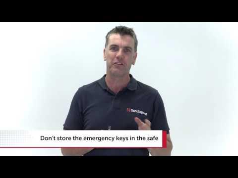 HOW TO INSTALL SANDLEFORD EZ MODEL DIGITAL SAFE