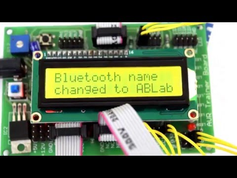 Renaming HC-05 Bluetooth Device Name with ATmega32 by ABLab Solutions