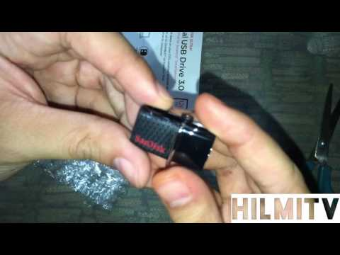 Sandisk Ultra Dual USB Drive 3.0 [128GB][Unboxing]