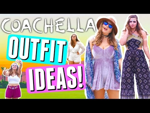 COACHELLA OUTFITS 2017! Music Festival Outfit Ideas for a Curvy Body! CURVY GIRL COACHELLA LOOKBOOK!