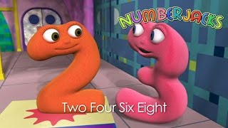 NUMBERJACKS | Two Four Six Eight | S1E41