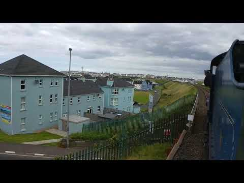 Belfast Central to Portrush by Steam Train