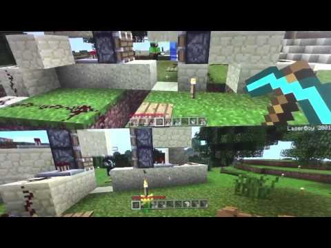 How to make a piston door without sticky pistons (Minecraft Xbox)