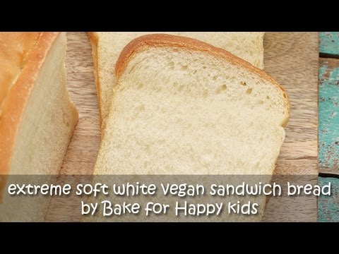 Extremely Soft White Vegan Sandwich Bread