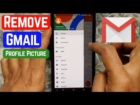 How To Remove Gmail Profile Picture 2019