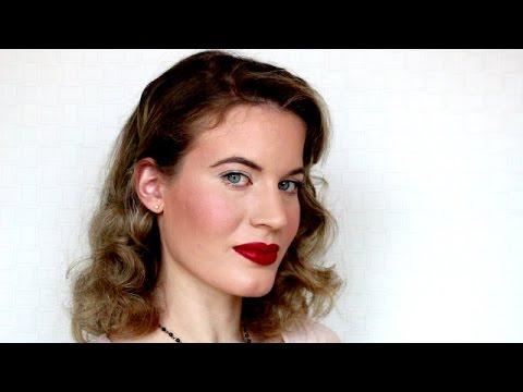Pinup Makeup/ 1940's l JD Beauty