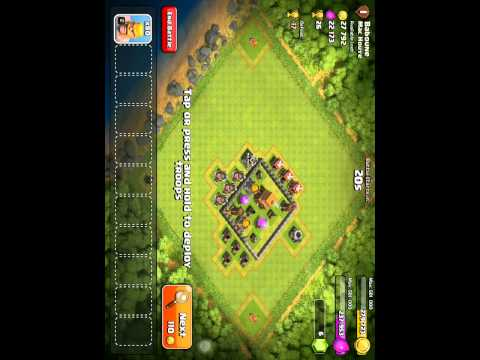 Good and fast raiding strategy for TH4 in Clash of Clans