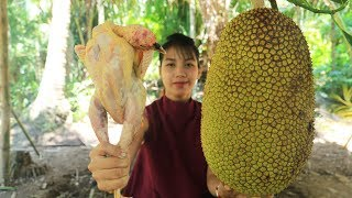 Yummy cooking chicken with Jack fruit recipe - Cooking skill