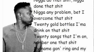 Mike Will Made It - Buy The World ft Future, Lil Wayne & Kendrick Lamar LYRICS