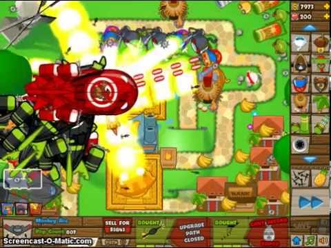 Bloons Tower Defense Round 110 No lives Lost