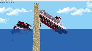 Floating Sandbox #9   Sinking TITANIC [ C ]   - PakVim net