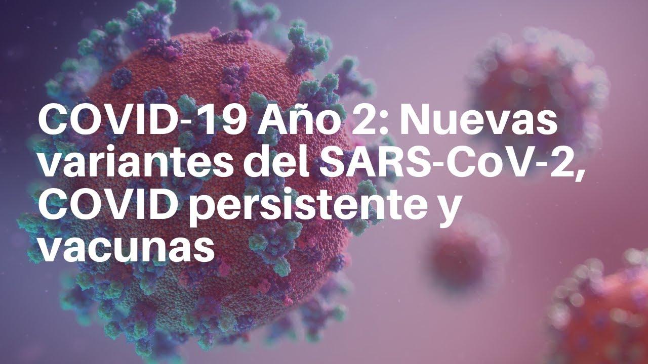 COVID-19 Año 2: Nuevas variantes del SARS-CoV-2, COVID persistente y vacunas