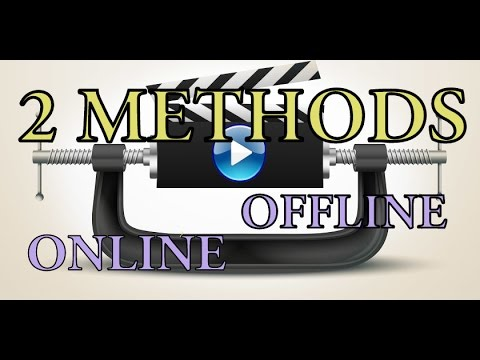How To Compress Any Video Size Without Loosing It's Quality | 2 Methods | Hindi/English