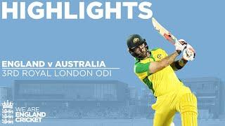 England v Australia - Highlights | Maxwell Hits Stunning Century | 3rd Royal London ODI 2020