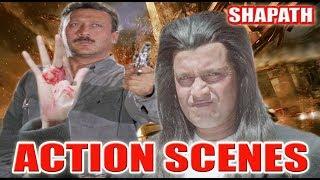 Non-Stop Action Scenes | Shapath | Mithun Chakraborty |