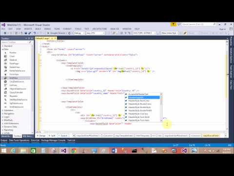 nested gridview asp.net with expand and collapse example